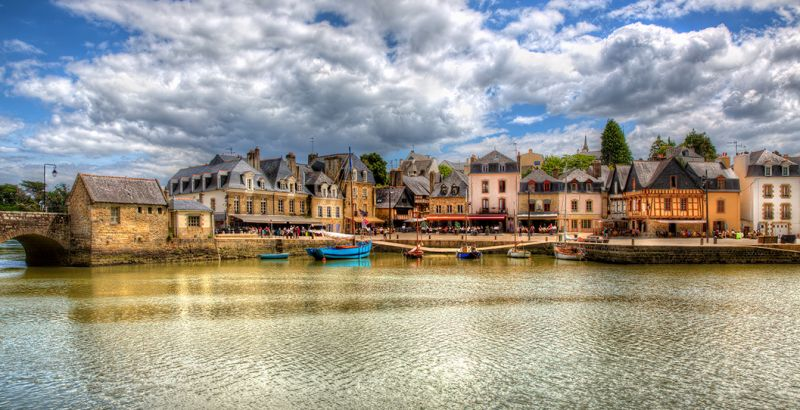 Port of Saint-Goustan in Auray