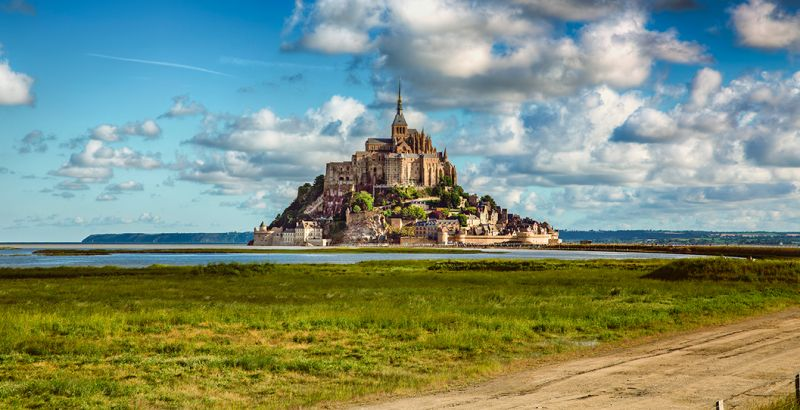 View of Mont Saint-Michel
