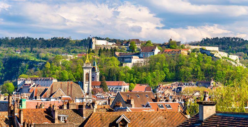 View of Besançon
