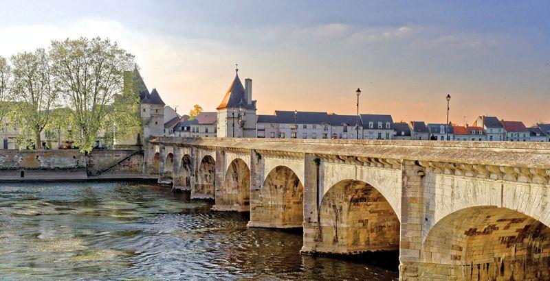 Pont Henry IV à Châtellerault