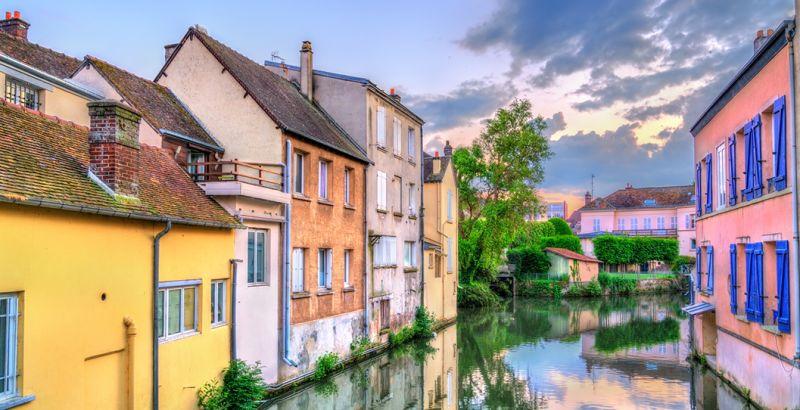 Rivière de la Blaise à Dreux