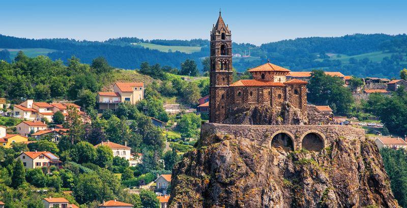 Capilla de Saint-Michel d'Aiguilhe en Puy-en-Velay
