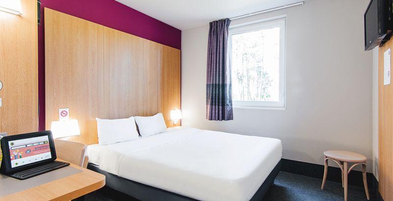 hotel en mont-de-marsan habitación doble