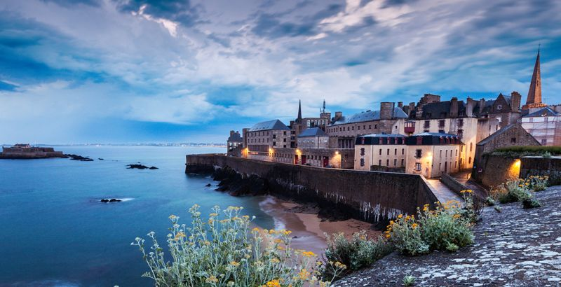 Panorama of the city of Saint-Malo