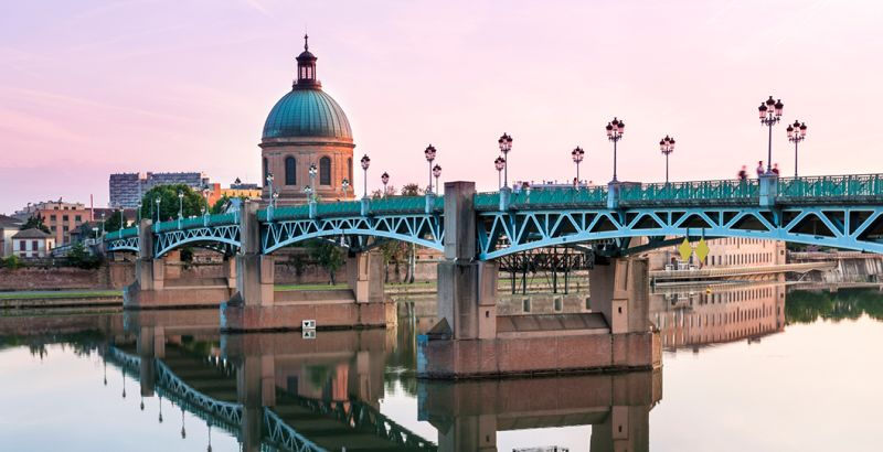 Pont Saint-Pierre in Toulouse