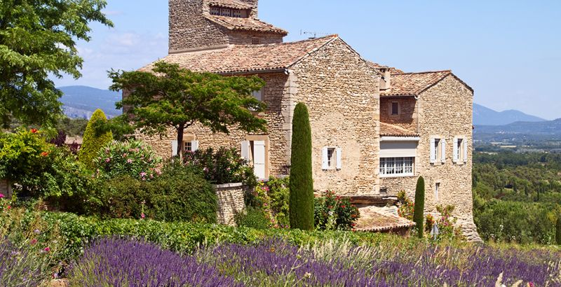 Maison dans la lavande, en Provences-Alpes-Côtes d'Azur