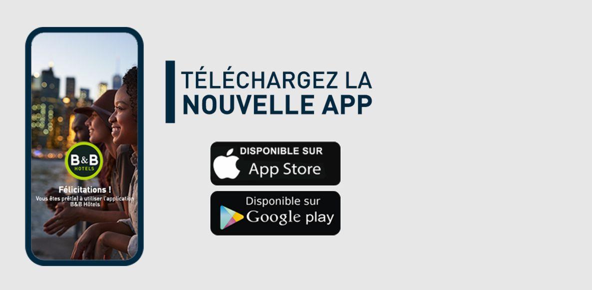 nouvelle application mobile B&B HOTELS
