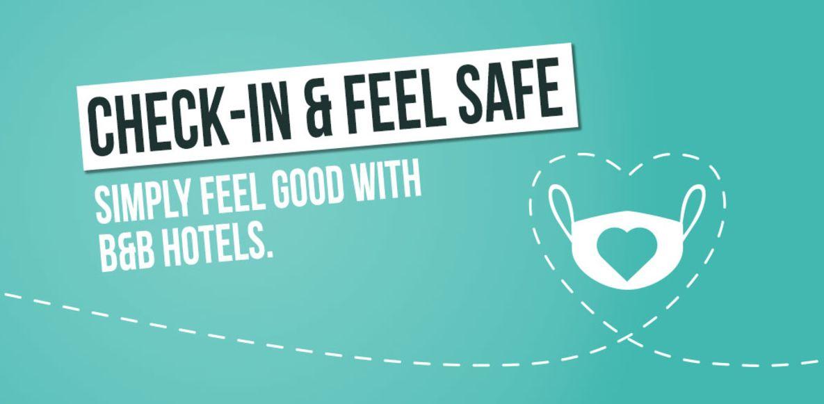Check-in & feel safe