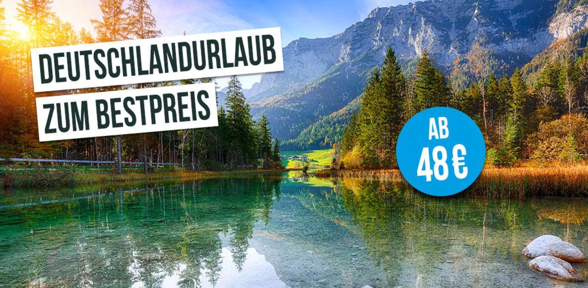 Deutschlandurlaub zum Bestpreis - Übernachten schon ab 48 € mit B&B Hotels