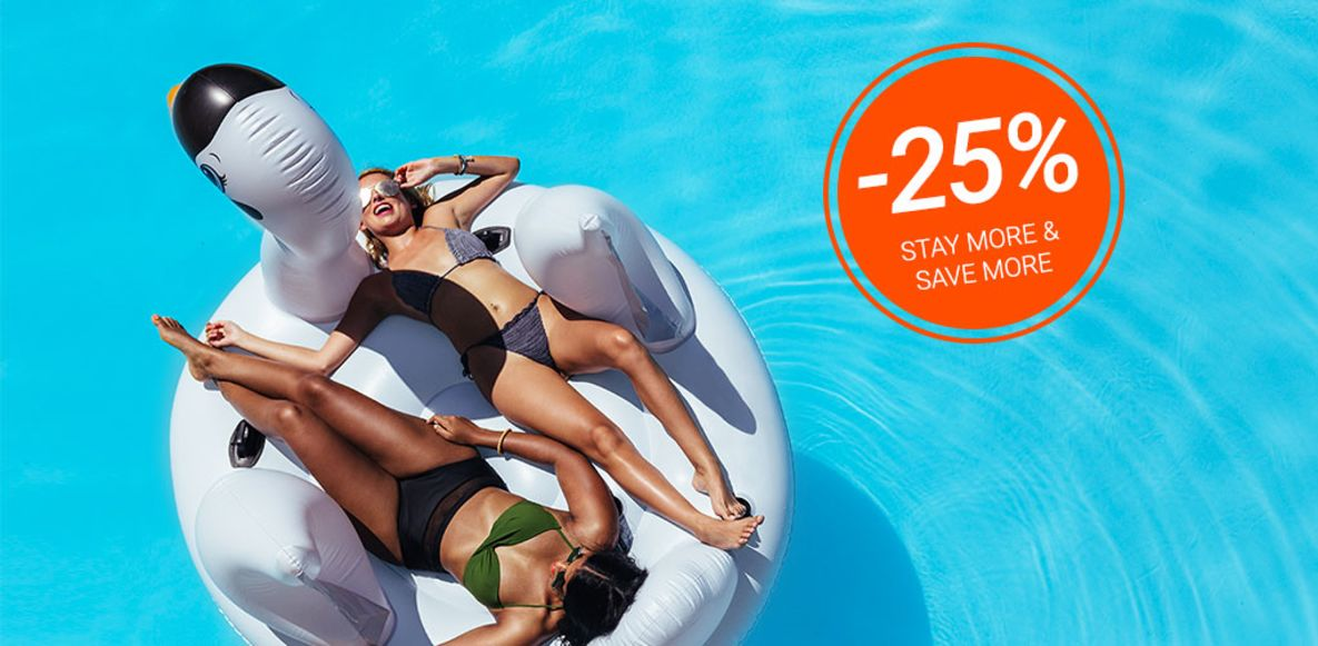 Offerta Long Stay 25% di sconto!