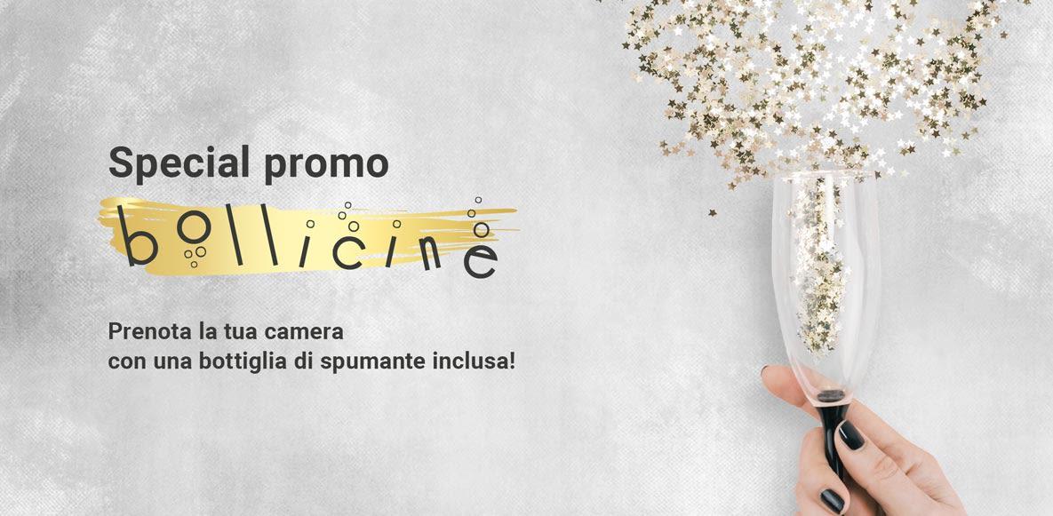 Special Promo Bollicine: la tua camera con prosecco incluso