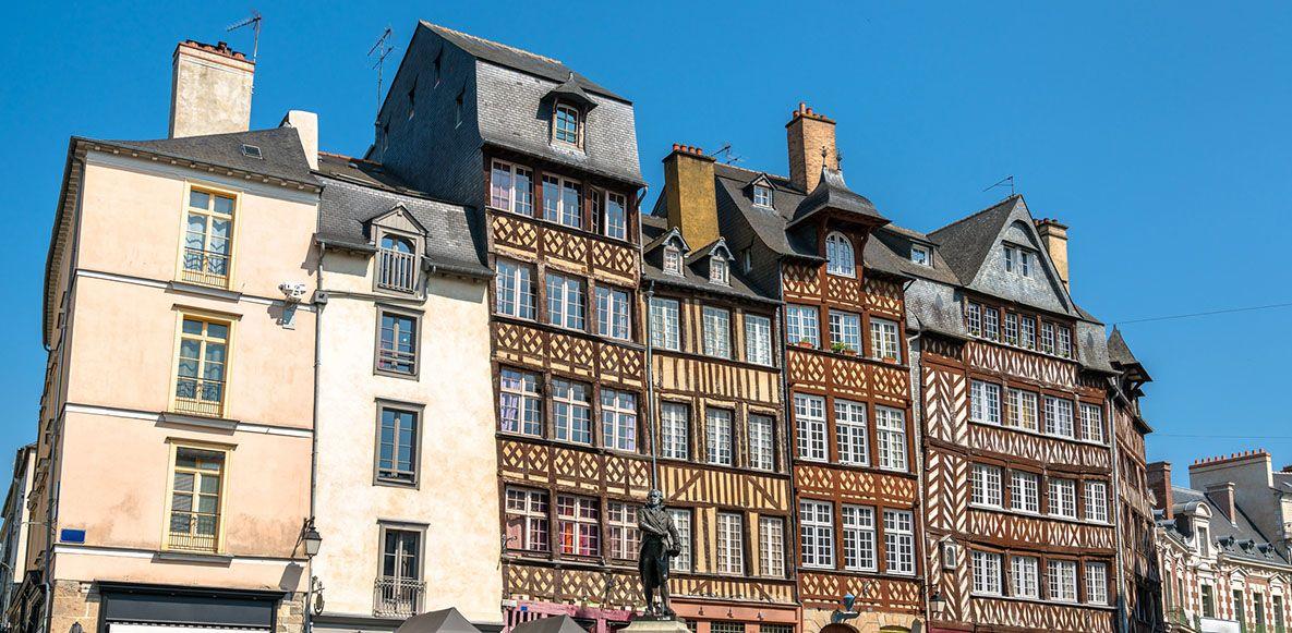 visiter la ville de Rennes B&B HOTELS