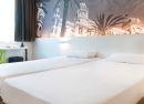 Habitación con dos camas Hotel B&B Alicante