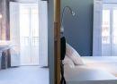 Baño y habitación de diseño Hotel B&B Fuencarral 52