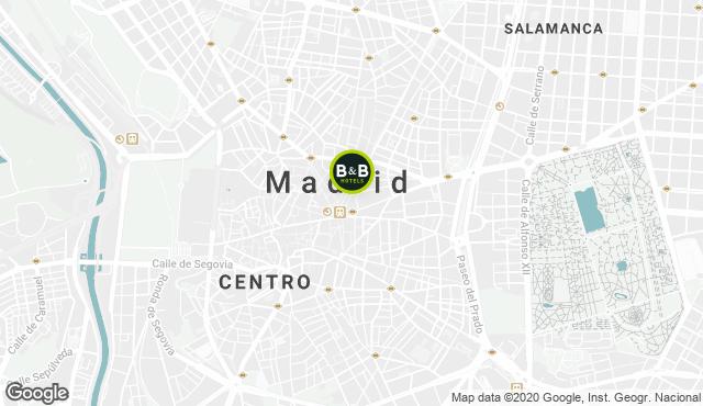 B&B Hotel Madrid Centro Puerta del Sol