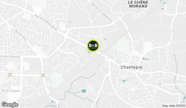 B&B Hotel Rennes Sud Chantepie