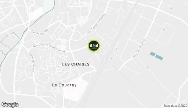 B&B Hotel Chartres Le Coudray
