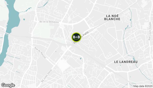 B&B Hotel Nantes Parc Expos La Beaujoire