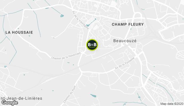 B&B Hotel Angers 2 Université