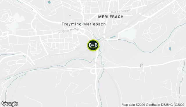 B&B Hotel Freyming-Merlebach