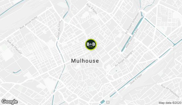 B&B Hotel Mulhouse Centre