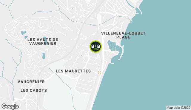 B&B Hotel Villeneuve-Loubet Plage