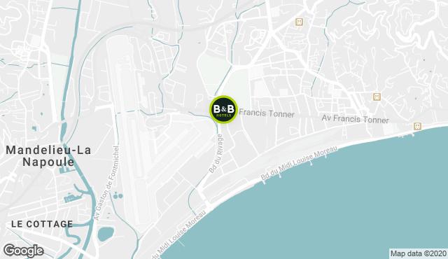 B&B Hotel Cannes La Bocca Plage