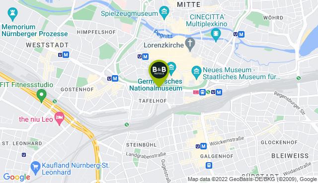 B&B Hotel Nürnberg City