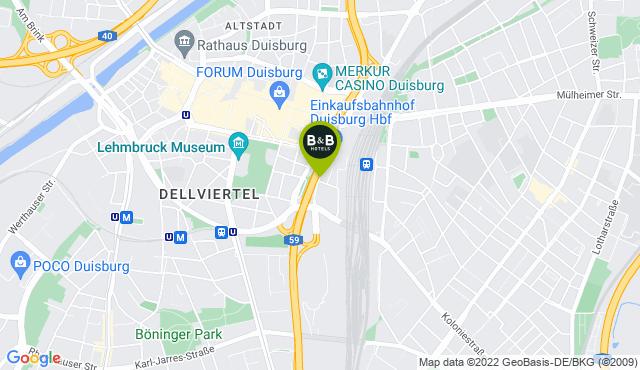 B&B Hotel Duisburg