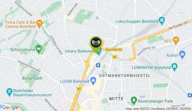 B&B Hotel Bielefeld-City