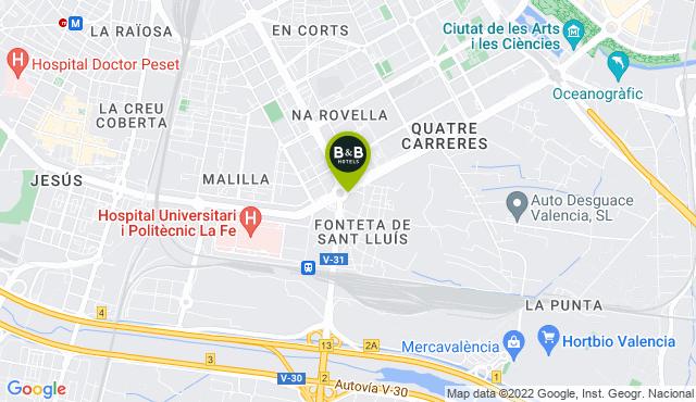 B&B Hotel Valencia Ciudad de la Ciencias