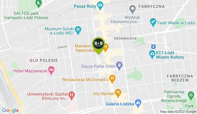 B&B Hotel Łódź Centrum