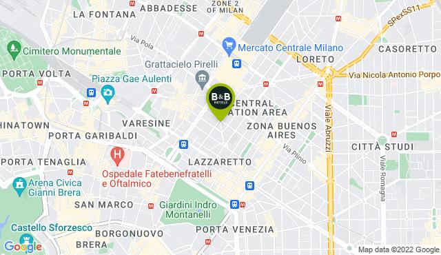 B&B Hotel Milano Central Station
