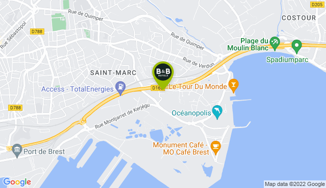 B&B Hotel Brest Port