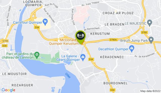 B&B Hotel Quimper Sud Bénodet