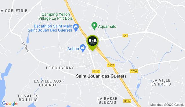 B&B Hotel Saint-Malo Sud
