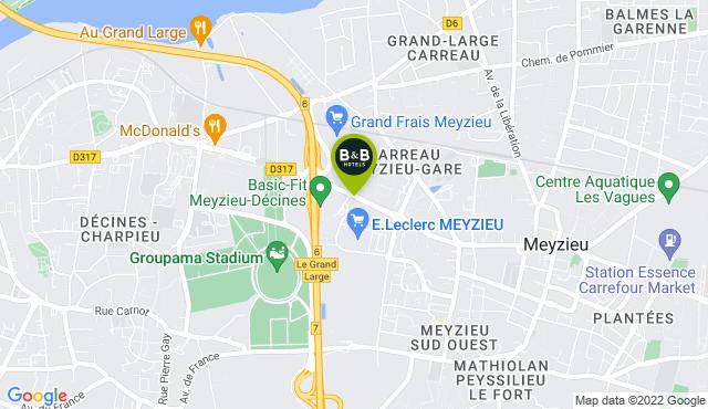 B&B Hotel Lyon Grand Stade Meyzieu