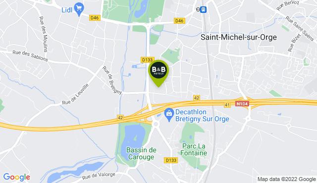 B&B Hotel Saint-Michel-sur-Orge