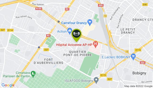 B&B Hotel Paris Est Bobigny Université