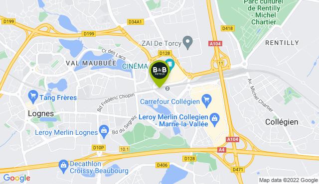 B&B Hotel Marne-la-Vallée Torcy