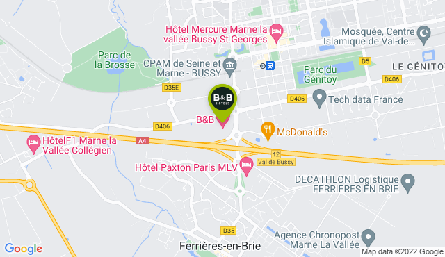 B&B Hotel Marne-la-Vallée Bussy-Saint-Georges