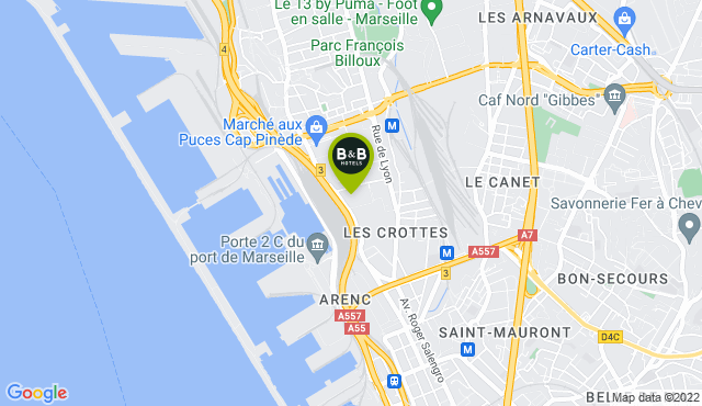 B&B Hotel Marseille Les Ports