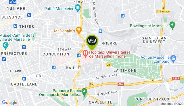 B&B Hotel Marseille Timone