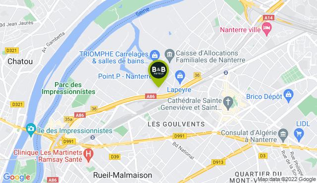 B&B Hotel Nanterre Rueil-Malmaison