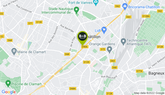 B&B Hotel Paris Châtillon