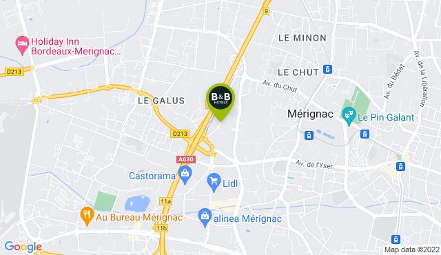 B&B Hotel Bordeaux Mérignac Aéroport