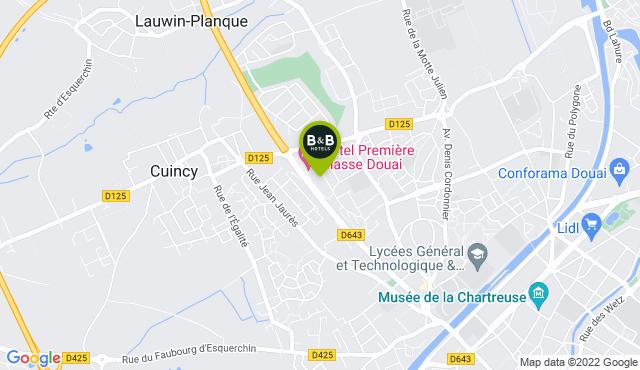 B&B Hotel Douai Parc des Expos Cuincy