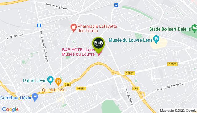 B&B Hotel Lens Musée du Louvre