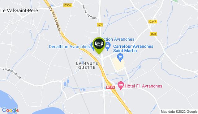 B&B Hotel Avranches Baie du Mont Saint-Michel