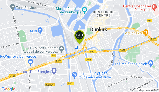 B&B Hotel Dunkerque Centre Gare